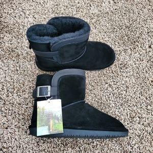 BearPaw | NEW Shantelle Short Suede Winter Boot